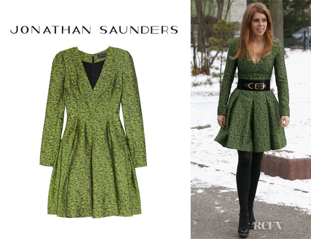 Princess Beatrice's Jonathan Saunders Sigrid Dress