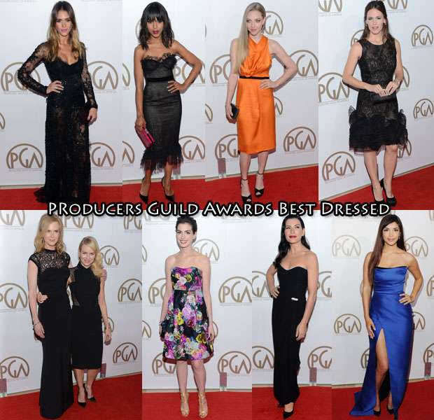 Producers Guild Awards Best Dressed