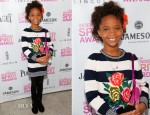 Quvenzhane Wallis In Stella McCartney - Film Independent Filmaker Grant and Spirit Awards Brunch