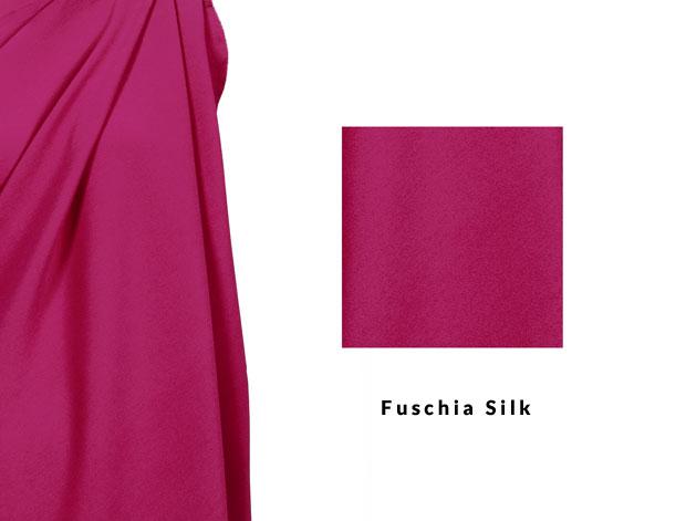 Fuschia Silk
