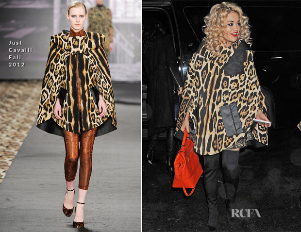RIta Ora In Just Cavalli - New York City