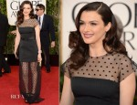 Rachel Weisz In Louis Vuitton - 2013 Golden Globe Awards