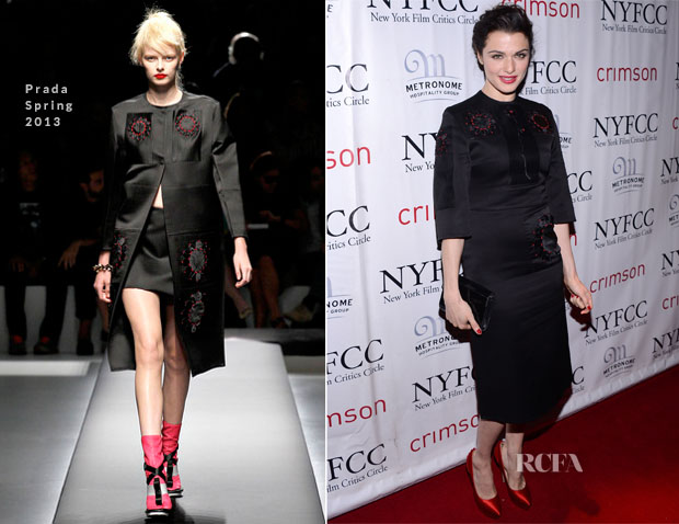 Rachel Weisz In Prada - 2012 New York Film Critics Circle Awards