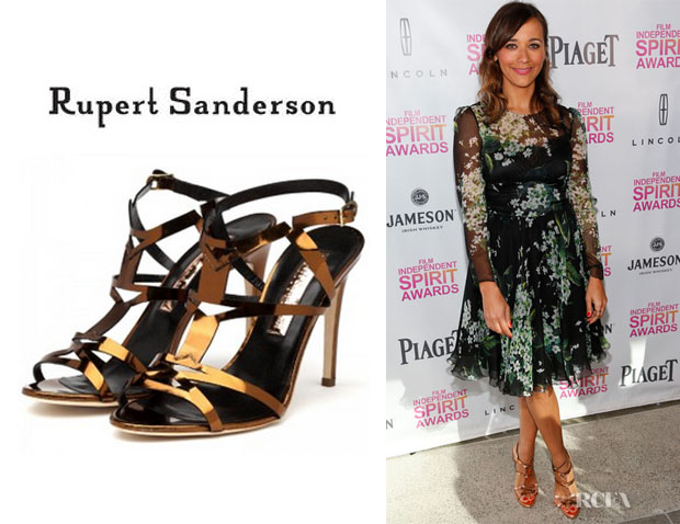 Rashida Jones' Rupert Sanderson Teoni High Heel Sandals