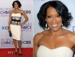 Regina King In Badgley Mischka - 2013 People's Choice Awards
