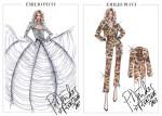 Emilio Pucci Dresses Rita Ora For 'The Radioactive Tour' 2013