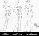 Roland Mouret's Sketches For My Oscars Gown - VOTE NOW