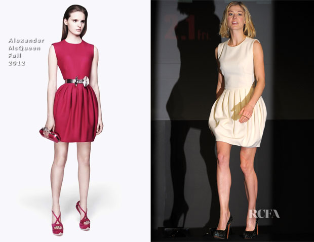 Rosamund Pike In Alexander McQueen - Jack Reacher' Tokyo Press Conference