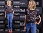Rosamund Pike In Erdem - 'Jack Reacher' Seoul Press Conference
