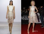 Rosamund Pike In Giambattista Valli - 'Jack Reacher' Fan Screening