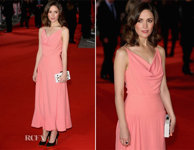 Rose Byrne In Balenciaga - 'I Give It A Year' London Premiere