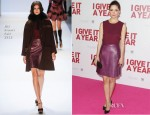 Rose Byrne In Jill Stuart - 'I Give It A Year' Sydney Premiere