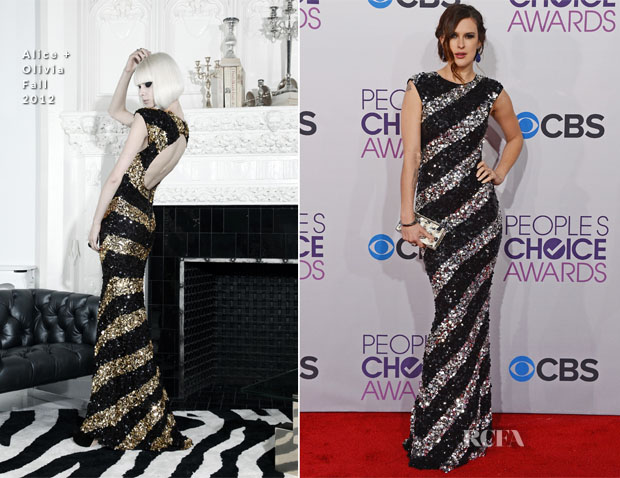 Rumer Willis In Alice + Olivia - 2013 People's Choice Awards