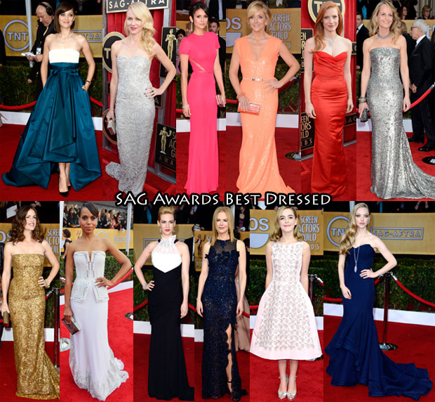 SAG Awards Best Dressed