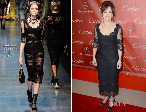 Sally Field In Dolce & Gabbana - 24th Annual Palm Springs International Film Festival Gala