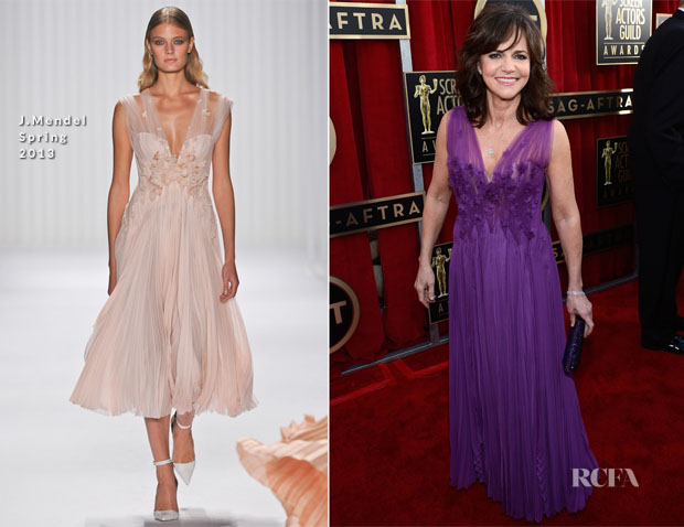 Sally Field In J Mendel - 2013 SAG Awards