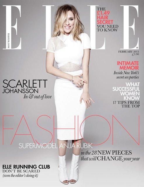 Scarlett Johansson Elle UK