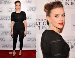 Scarlett Johansson In Dolce & Gabbana - 'Cat On A Hot Tin Roof' Broadway Opening Night After Party
