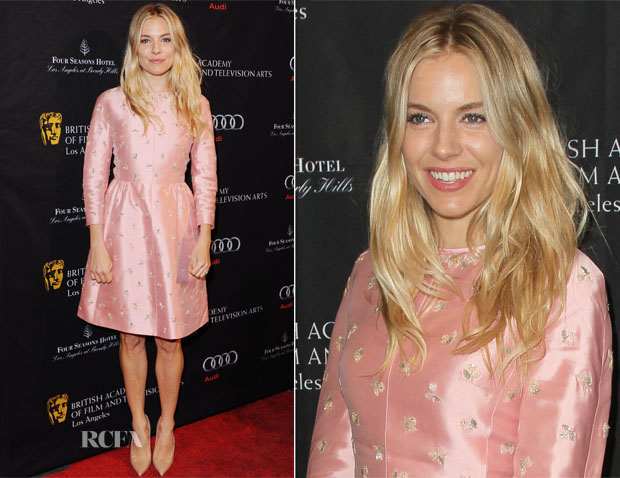 Sienna Miller in Valentino - BAFTA Los Angeles 2013 Awards Season Tea Party