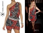 Sienna Miller's Isabel Marant Embroidered And Printed Dress