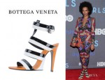 Solange Knowles' Bottega Veneta High Heeled Sandals