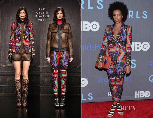 Solange Knowles In Just Cavalli - 'Girls' Season 2 Premiere
