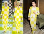 Tallulah Harlech In Louis Vuitton - BFC/Vogue Designer Fashion Fund Winners Announcement
