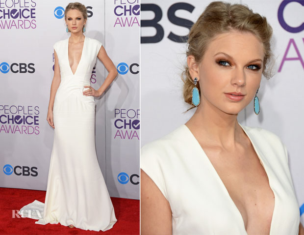 Taylor Swift In Ralph Lauren - 2013 People s Choice Awards - Red ... a0e101ea71494
