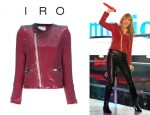 Taylor Swift's IRO Sequin Cropped Jacket