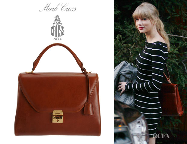 Taylor Swift's Mark Cross Scottie Satchel