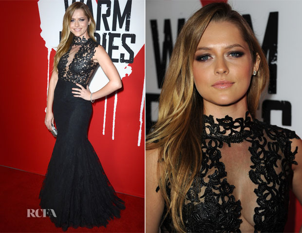 Teresa Palmer In Philip Armstrong - 'Warm Bodies' LA Premiere