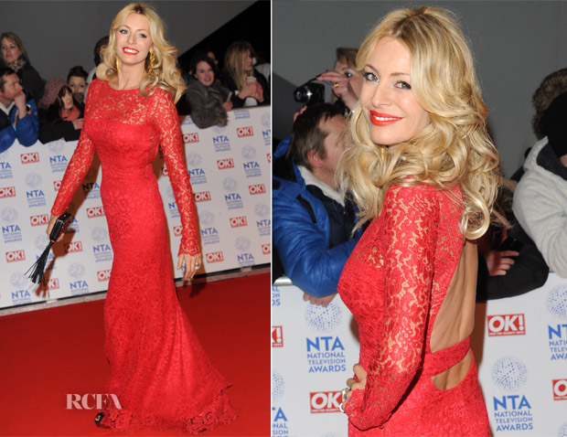 Tess Daly In Issa - 2013 National Television Awards