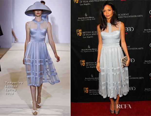 Thandie Newton In Temperley London  - BAFTA Los Angeles 2013 Awards Season Tea Party