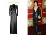Vanessa Hudgens' Jenny Packham Sequined Silk Gown