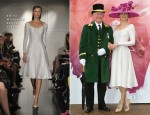 Victoria Pendleton In Emilia Wickstead - Royal Ascot Launch