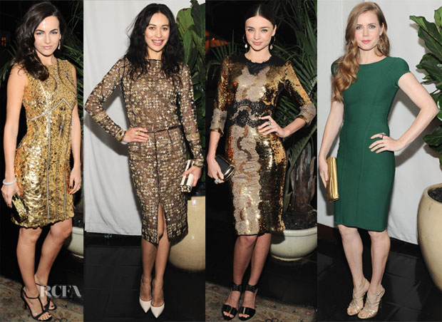 W Magazine Golden Globe Party 2