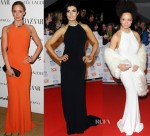 Who Wore Alexander McQueen Better...Emily Blunt, Kim Marsh or Natalie Gumede?