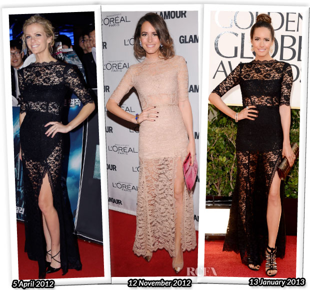 Who Wore Femme D'armes Better Brooklyn Decker or Louise Roe