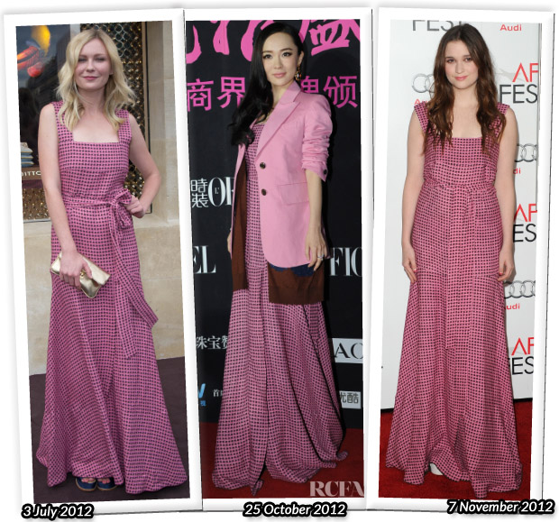 Who Wore Louis Vuitton Better Kirsten Dunst, Huo Siyan or Alice Englert