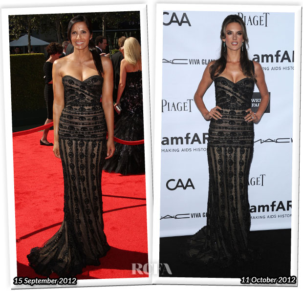 Who Wore Zuhair Murad Couture Better Padma Lakshmi or Alessandra Ambrosio