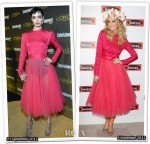 Who Wore Christian Dior Better...Krysten Ritter or Delta Goodrem?
