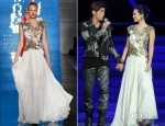 Zhang Ziyi In Reem Acra - Chinese Music Charts Concert