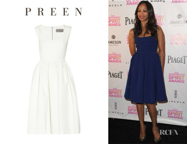 Zoe Saldana's Preen Regan Dress