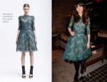 Zooey Deschanel In Monique Lhuillier - Glamour Cover Girl Party