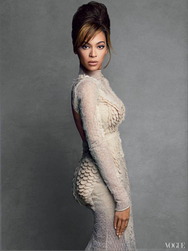 Beyonce Knowles for Vogue US March 2013