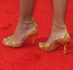 Amandla Stenberg's Louis Vuitton heels