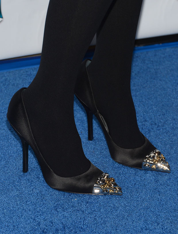 Jessica Alba's Louis Vuitton shoes
