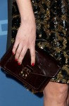 Bérénice Bejo's Louis Vuitton clutch