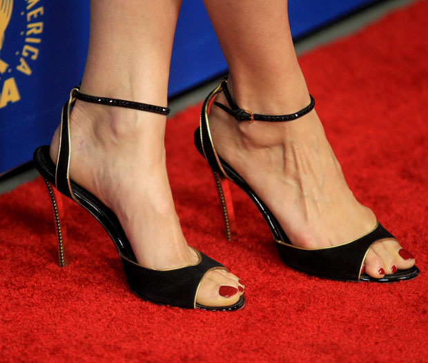 Bérénice Bejo's Louis Vuitton shoes