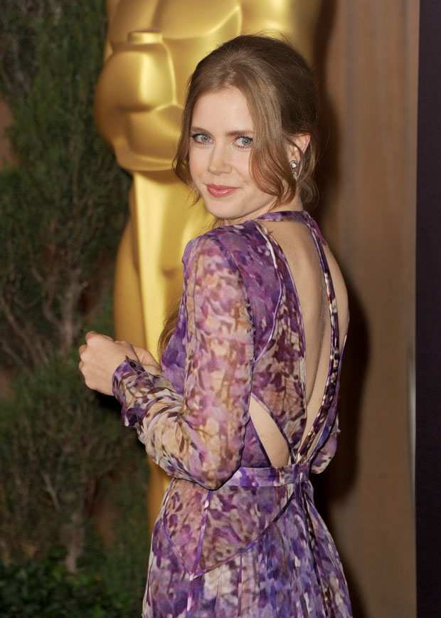 Amy Adams in J. Mendel